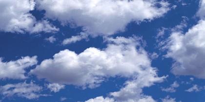 Cielo, aire y nubes.