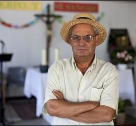 El sacerdote Eubilio Rodríguez
