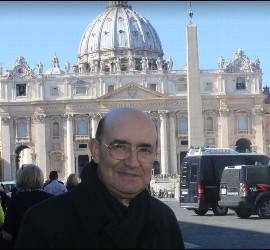 Fidel Herráez, en Roma