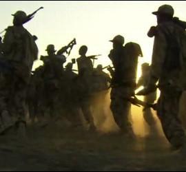 Uno de los bandos armados del conflicto de Sudán del Sur