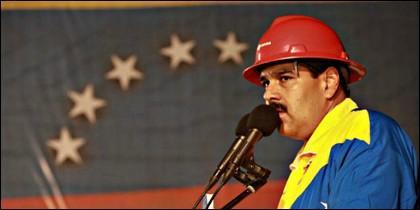 Nicolás Maduro en PDVSA.