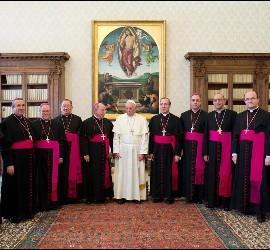 Obispos españoles, con el Papa