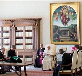 Francisco, con el Consejo Mundial de las Iglesias