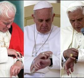 Tiempo de los tres papas