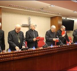 Mesa presidencial de la Plenaria
