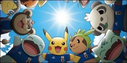 Adias y Pokémon.