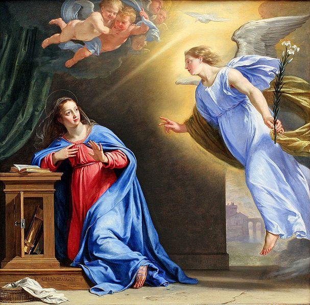 Resultado de imagen para La Anunciación del Ángel a la Virgen María