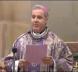 Mario Iceta, en el funeral de Azkuna