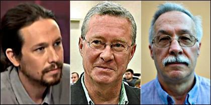 Iglesias, Verstrynge y Jaime Pastor.