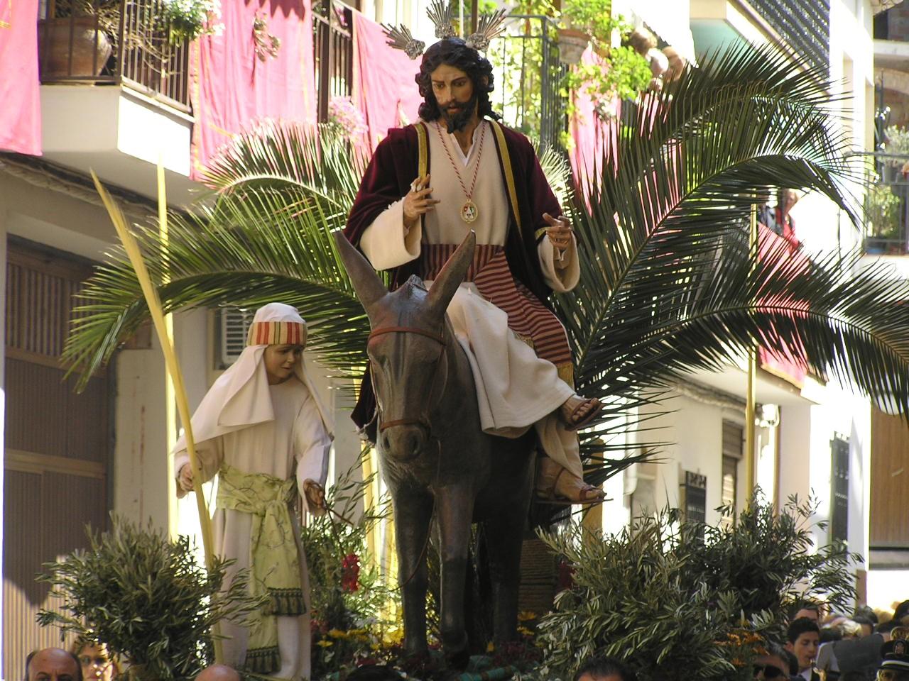 Resultado de imagen de procesiones de ldomingo de ramos