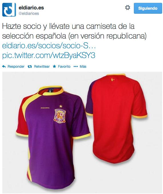 be4854dc9372f Nacho Escolar ofrece suscripciones a cambio de camisetas de la ...