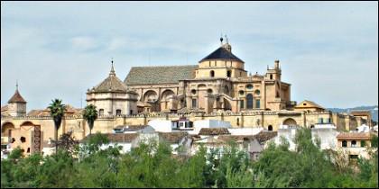 La catedral de Córdoba, antigua mezquita.