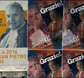 Roma se prepara para la canonización de los dos papas