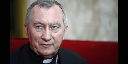 El Secretario del Estado vaticano, Pietro Parolin