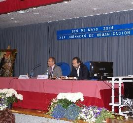 José C. Bermejo en las XIX Jornadas Nacionales de Humanización de la Salud