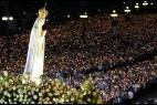 La procesión de anoche en Fátima