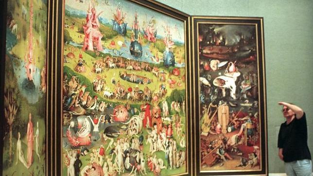 En el museo del prado hay 4 obras maestras que est for Jardin de las delicias zamora