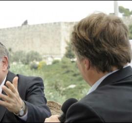 El rabino Abraham Skorka, ya en Jerusalén