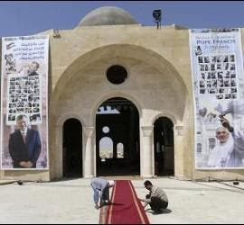 Jordania, lista para la llegada del Papa