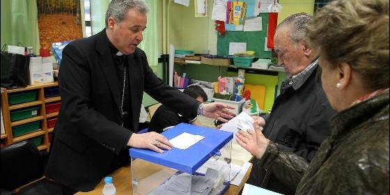 Iceta preside una mesa electoral espa a religi n digital for Presidente mesa electoral