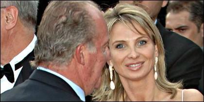 El Rey Juan Carlos y Corinna, en otros tiempos.