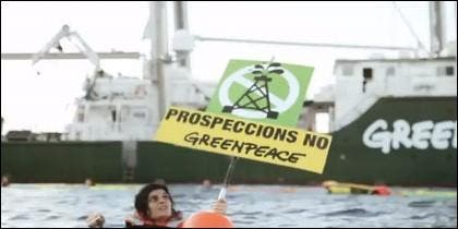 La acción de Greenpeace