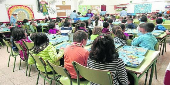 Niños en un aula.