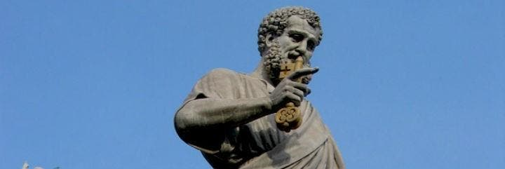 Pedro, en el Vaticano