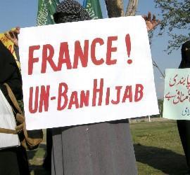 Mujeres con velo en Francia