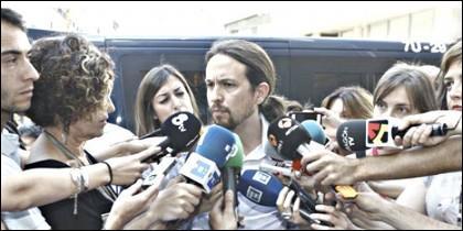 Pablo Iglesias, portavoz de 'Podemos'.