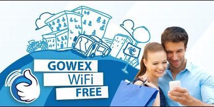 Gowex, wi´fi gratís e internet en la calle.