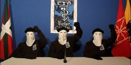 Los terroristas de ETA.