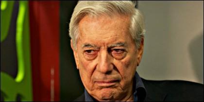El Premio Nobel Mario Vargas Llosa.