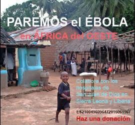 Campaña de San Juan de Dios contra el Ébola