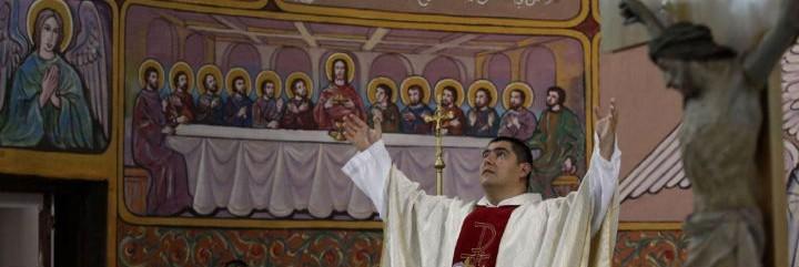 Jorge Hernández, párroco de Gaza