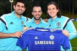 Costa, Cesc y Filipe.