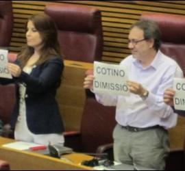 Piden la dimisión de Cotino