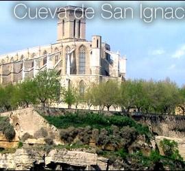 Camino Ignaciano, cueva de Manresa
