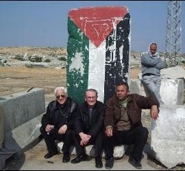 El padre Ángel, en Gaza