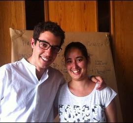 Carmen y Álvaro, responsables de JEC