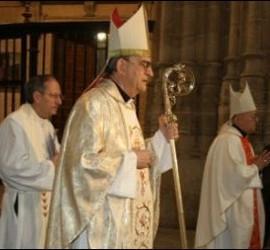 El obispo de Salamanca, Carlos López