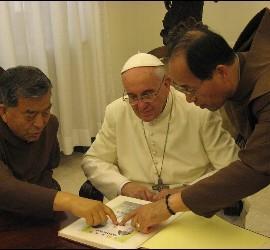 El Papa, el Padre Ho y el Hermano Shin