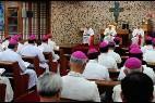 Francisco, con los obispos asiáticos