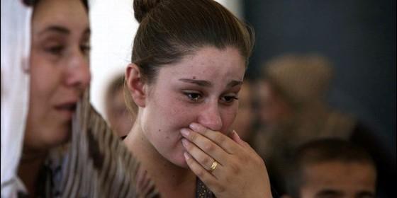 Desplazados yazidíes en Irak