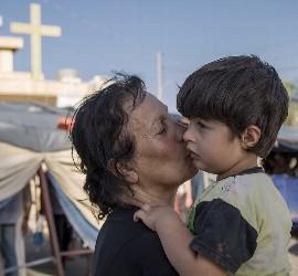 Refugiados cristianos en Irak