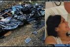 El coche, Valeria, la esposa fallecida, y Emanuel Bergoglio