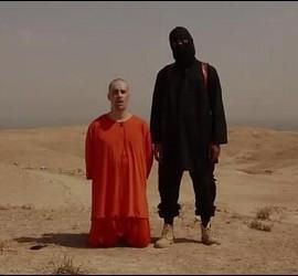 El periodista estadounidense James Wright Foley, antes de ser decapitado por un fanático islamista.
