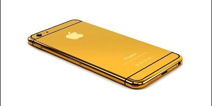 El iPhone6 de oro.
