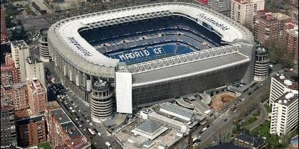 El Santiago Bernabéu, estadio del Real Madrid.