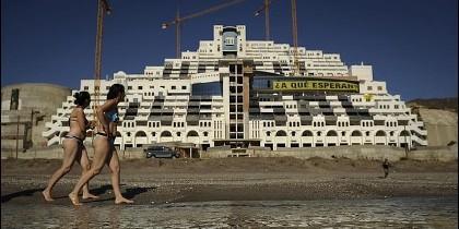Hotel 'El Algarrobico'.